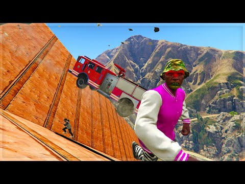EVERYTHING IS FALLING!!! (GTA 5 Online Funny Moments)