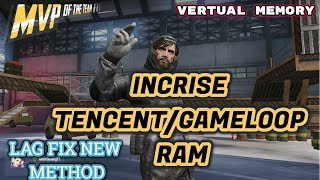How to fix tencent gaming buddy for best performance in pubg mobile...!!! increase Virtual Memory