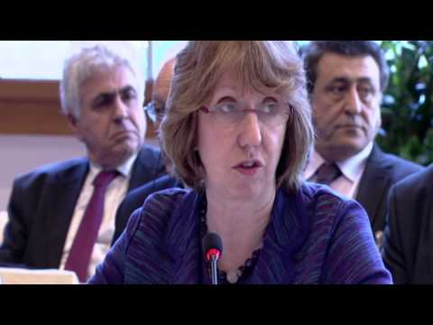 Statement by Catherine Ashton at the Geneva II Middle East Peace Conference on Syria, Montreux