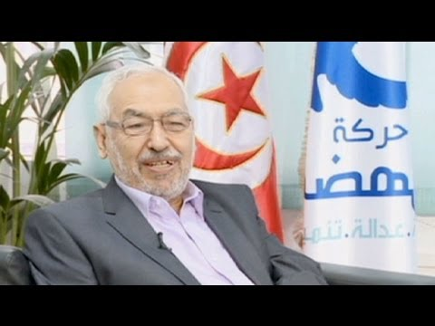 euronews interview - Post revolution politics in Tunisia