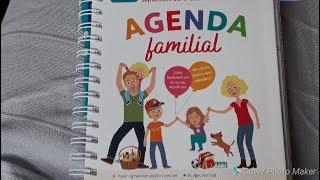 ♡ Mon agenda familial - Memoniak 2018-2019