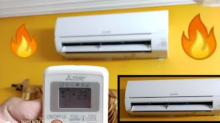 MITSUBISHI ELECTRIC MSY-JP13VF 1.0 TON 3 STAR INVERTER AC review !! Mitsubishi 1 ton AC review .