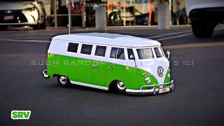 "VW ""HERBIE"" RC Lowrider BUS w/ Air-Ride"