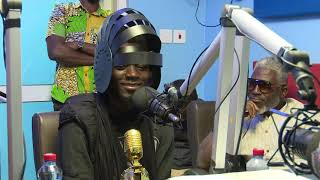 Best Afican DJ AFROTRONIX from CHAD (Central Africa) visits Zylofon fm