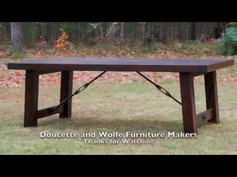 handmade dining table plans