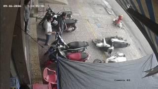 Trộm xe sh và cái kết không ngờ - mọi người cẩn thận nha