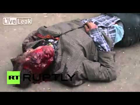 Ukraine: Nearly 40 dead as Trade Unions House torched *GRAPHIC*