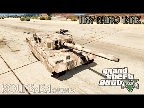 Miniature Rhino tank