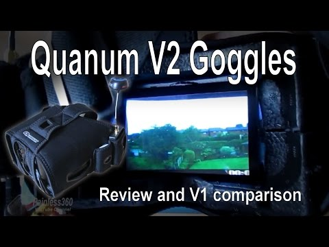HobbyKing Quanum V2 FPV Goggles - Overview and Review