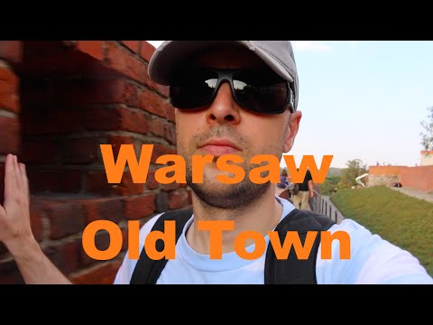 Warsaw Poland Old Town Travel Vlog Dutchified