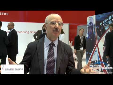 TETRA World Congress 2012 - Andrea Pratesi, Senior Vice President, Selex