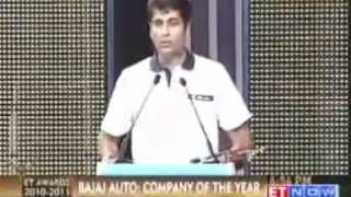 ET Awards Company of the Year Bajaj Auto