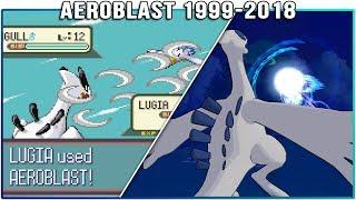Evolution of Lugia's Aeroblast - Pokémon Moves (1999-2018)