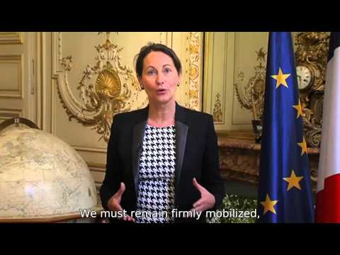 Ségolène Royal introduces Paris2015 - COP21/CMP11