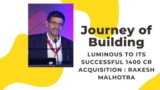 Journey of Building Luminous to its