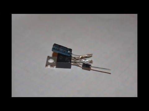 Стабилизатор напряжения 12 вольт для светодиодов в авто своими руками схема