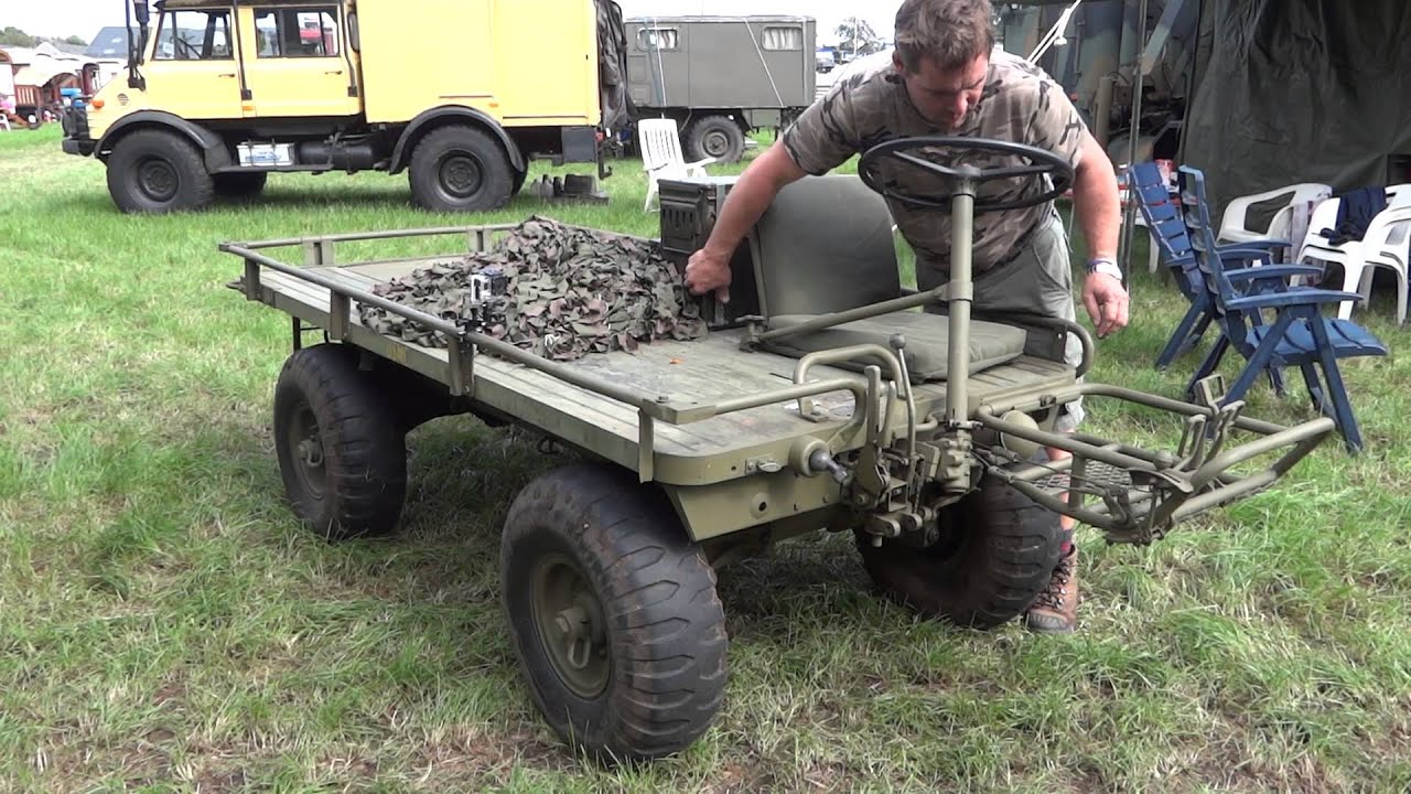Mule Us Army M274 Truck Youtube