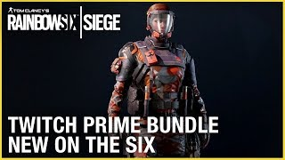 Rainbow Six Siege: Twitch Prime Bundle - New on the Six | Ubisoft [NA]