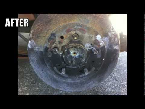 How to Remove Rust off Brake Rotors (De-Rust)