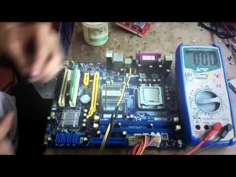 Motherboard Repair: No Display Motherboard Repair