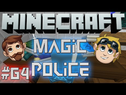 Minecraft Magic Police #64 - Free Shower (yogscast Complete Mod Pack) video