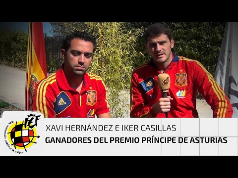 Casillas y Xavi: