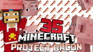 ♠ Project Bacon: Water Pig!!! - 35 - Modded Minecraft Survival @superchache39 ♠