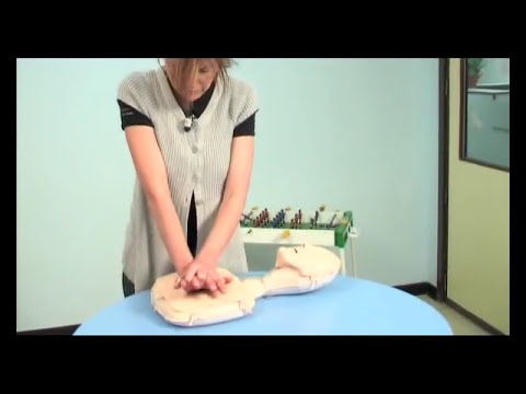 Reanimación cardiopulmonar (RCP) para niños mayores de 1 año