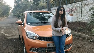 Tata Tiago AMT Review | Gynaecologist's Thumbs Up for the Tiago AMT | Ecardlr Customer Review