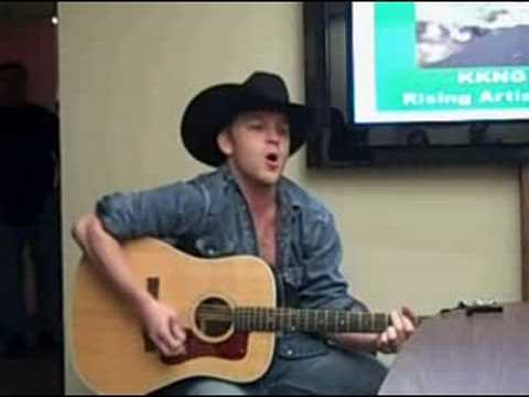 Justin Moore at KKNG Radio