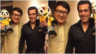 Salman Khan, Kangana Ranaut, Tiger Shroff party with Jackie Chan