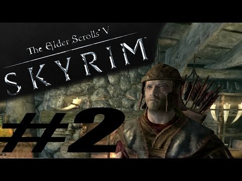 #2 The Elder Scrolls V: Skyrim - Kompan, ruiny, quest!