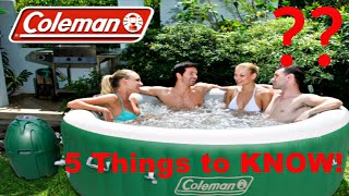 5 reasons NOT to buy a Coleman SaluSpa Hot Tub!