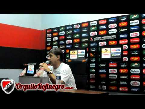 Conferencia de Prensa Gerardo Martino | Newell´s 1 - 0 Atletico Rafaela | OrgulloRojinegro.com.ar