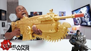 """SOLID GOLD!"" Gears of War 4 Lancer UNBOXING!"