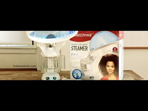 Hair Health With Kiss Red Pro Hair Therapy Steamer