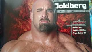 Wwe breaking news Goldberg going to wwe raw 9/12/16 2016