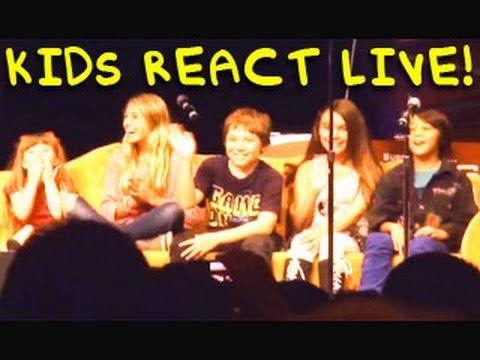 Kids React Live On Stage Vidcon 2011