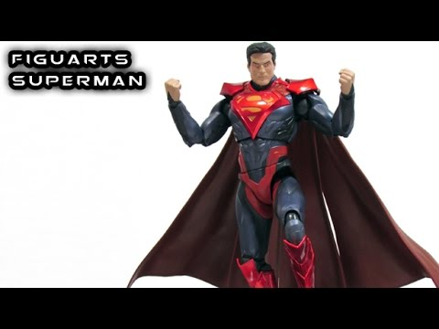 S.H. Figuarts SUPERMAN Injustice Figure Review