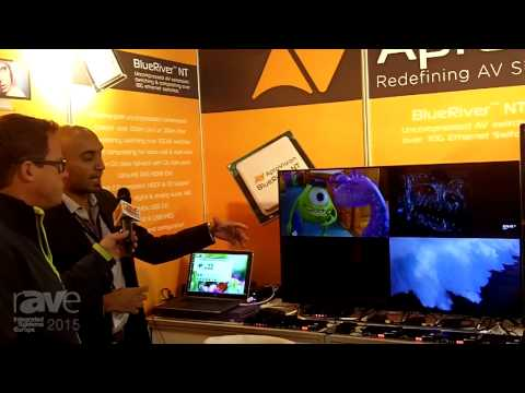 ISE 2015: AptoVision Demonstrates BlueRiver NT Chip Technology