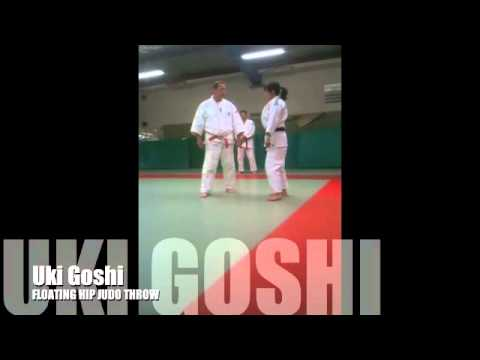 Uki goshi FLOATING HIP JUDO THROW Image 1
