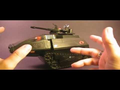 Hcc788 - 1983 Cobra H.i.s.s. Tank - G. I. Joe Toy Review! Hd video
