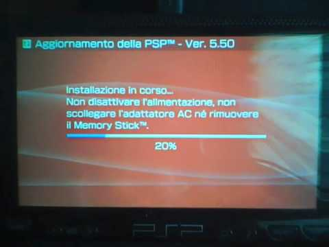 PSP FAT Custom Firmware 5.00 m33 upgrade to 5.50 GEN - Genesis XYZ