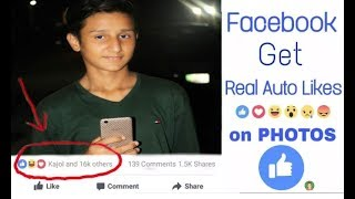 How to make auto like in face book