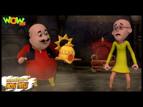 Mandir Ka Khanzana - Motu Patlu in Hindi WITH ENGLISH, SPANISH & FRENCH SUBTITLES thumbnail