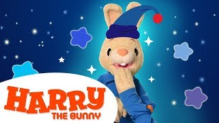 Bedtime Stories for Kids with Harry The Bunny   Learn First Words & Vocabulary   Videos for Children