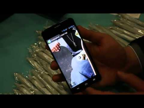 Alcatel One Touch Idol X hands on YouTube