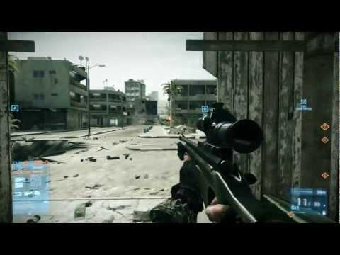 Battlefield 3 Best sniper headshot ever seen (PRO)