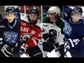 Highlights from the 2013-14 season of the USHL All-Rookie Team, including Robby Jackson (Chicago Steel), Tyler Sheehy (Waterloo Black Hawks), Denis Smirnov (Indiana Ice), Charlie Curti (Cedar Rapids RoughRiders), Hayden Shaw (Waterloo Black Hawks), Tim Shoup (Indiana Ice), and Hayden Hawkey (Omaha Lancers)