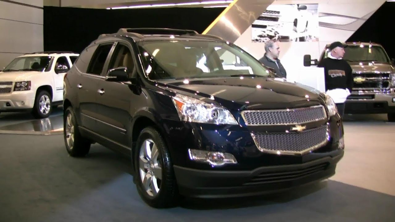 2012 Chevrolet Traverse Ltz Exterior And Interior At 2012